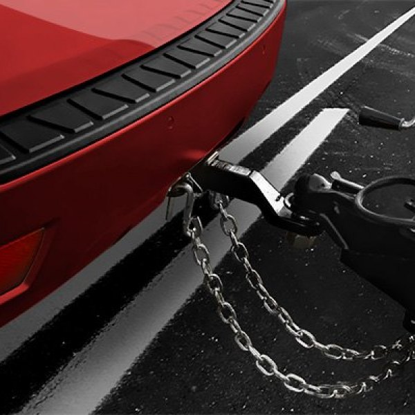 CURT® - Trailer Hitch with Safety Chains