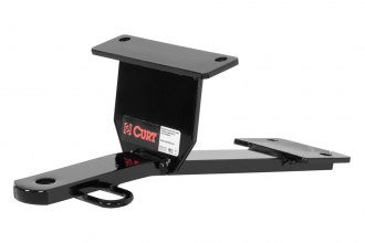 CURT® 11501 - Class 1 Concealed Black Trailer Hitch with Fixed Draw Bar (1500/150 Weight Capacity)