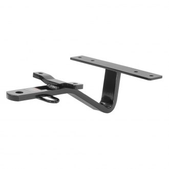 CURT® - Class 1 Concealed Black Rear Trailer Hitch with Fixed Draw Bar