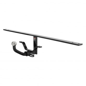 CURT® - Class 1 Concealed Black Trailer Hitch with Receiver Opening