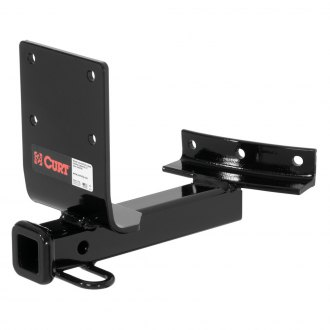 CURT® - Class 1 Exposed Black Trailer Hitch with Receiver Opening (W/O Insert, 2000/200 Weight Capacity)