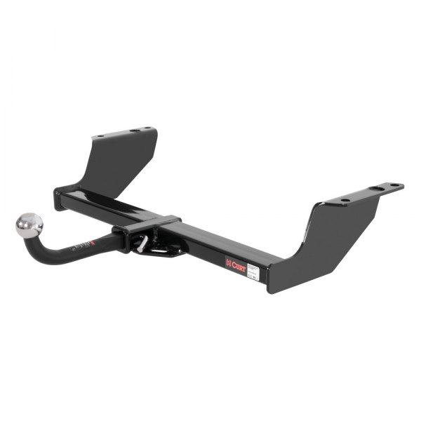 CURT® - Class 2 Exposed Black Trailer Hitch with Receiver Opening