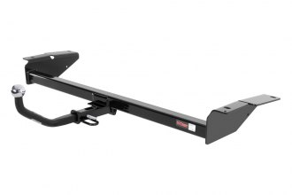 "CURT® - Class 2 Concealed Black Trailer Hitch with Receiver Opening (With Euro Insert with 2"" Ball, 3500/350 Weight Capacity)"