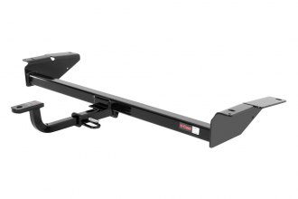 CURT® - Class 2 Concealed Black Trailer Hitch with Receiver Opening (With Standard Ball Mount Insert, 3500/350 Weight Capacity)