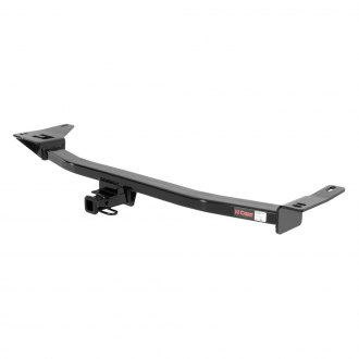 CURT® - Class 2 Concealed Black Trailer Hitch with Receiver Opening (W/O Insert, 3500/300 Weight Capacity)