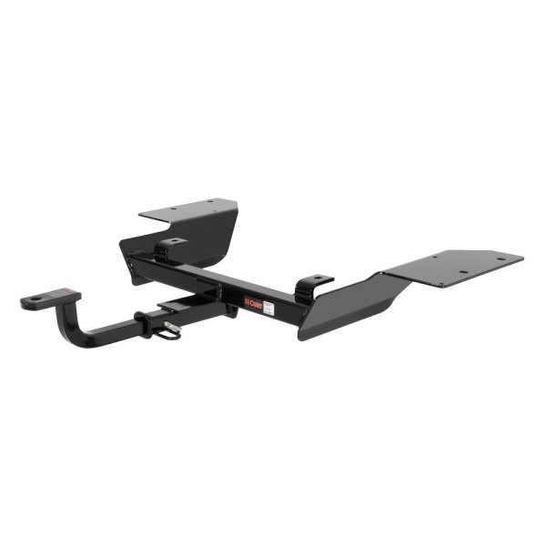 CURT® - Class 2 Concealed Black Trailer Hitch with Receiver Opening