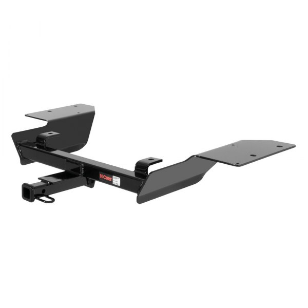 CURT® - Class 2 Black Trailer Hitch with Receiver Opening