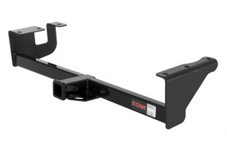 CURT® 13001 - Class 3 Exposed Black Trailer Hitch with Receiver Opening (3500/350 Weight Capacity)