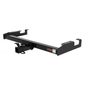 CURT® - Class 3 Exposed Black Trailer Hitch with Receiver Opening