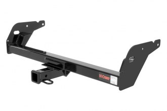 CURT® 13013 - Class 3 Concealed Black Trailer Hitch with Receiver Opening (5000/500 Weight Capacity)