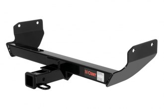 CURT® 13065 - Class 3 Concealed Black Trailer Hitch with Receiver Opening (5000/500 Weight Capacity)