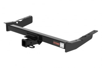 CURT® 13085 - Class 3 Concealed Black Trailer Hitch with Receiver Opening (4000/400 Weight Capacity)