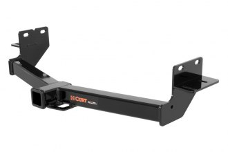 CURT® 13153 - Class 3 Concealed Black Trailer Hitch with Receiver Opening (6000/900 Weight Capacity)