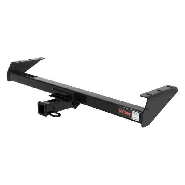 CURT® - Class 3 Concealed Black Trailer Hitch with Receiver Opening