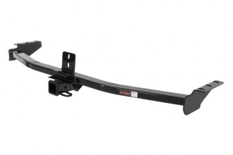 CURT® 13328 - Class 3 Concealed Black Trailer Hitch with Receiver Opening (3500/350 Weight Capacity)
