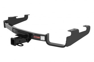 CURT® 13362 - Class 3 Concealed Black Trailer Hitch with Receiver Opening (4000/400 Weight Capacity)
