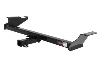 CURT® 13364 - Class 3 Concealed Black Trailer Hitch with Receiver Opening (4000/400 Weight Capacity)