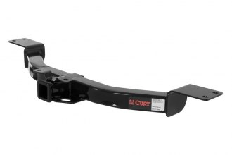 CURT® 13424 - Class 3 Exposed Black Trailer Hitch with Receiver Opening (5000/500 Weight Capacity)