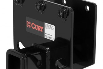 CURT® 13442 - Class 3 Concealed Black Trailer Hitch with Receiver Opening (6000/600 Weight Capacity)