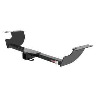 CURT® - Class 3 Exposed Black Rear Trailer Hitch with Receiver Opening