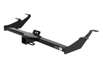 CURT® 13574 - Class 3 Exposed Black Trailer Hitch with Receiver Opening (3500/350 Weight Capacity)