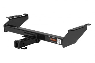 CURT® 14001 - Class 4 Heavy Duty Concealed Black Trailer Hitch with Receiver Opening (10000/1000 Weight Capacity)