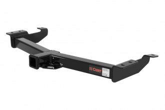 CURT® 14055 - Class 4 Heavy Duty Exposed Black Trailer Hitch with Receiver Opening (10000/1000 Weight Capacity)