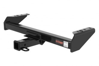 CURT® 14082 - Class 4 Concealed Black Trailer Hitch with Receiver Opening (10000/1000 Weight Capacity)