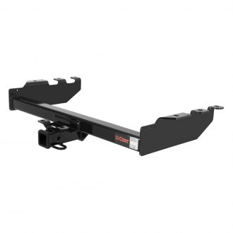 CURT® - Class 4 Heavy Duty Exposed Black Trailer Hitch with Receiver Opening