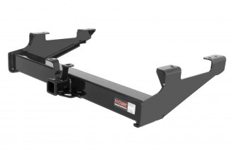 CURT® - Class 5 Heavy Duty Exposed Black Trailer Hitch with Receiver Opening