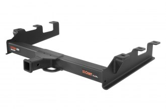 CURT® - Class 5 Xtra Duty Exposed Black Trailer Hitch with Receiver Opening