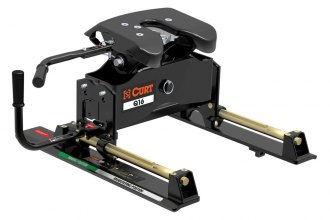 CURT® - Q16 Series 5th Wheel Hitch Head with Roller