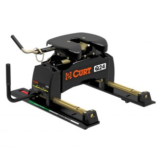 CURT® - 5th Wheel Q24 Hitch Head with Roller
