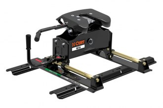 CURT® - Q16 Series 5th Wheel Hitch Head with Roller and Rails