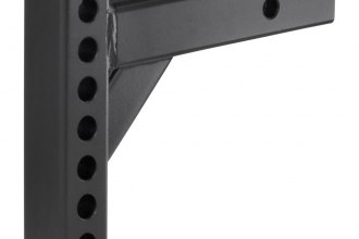 "CURT® 17100 - 7-1/2"" Drop Adjustable Hitch Bar for 2"" Receivers (8"" Length, 5-1/2"" Rise)"