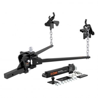 CURT® - Trunnion Spring Weight Distribution Hitch with 2-5/16'' Trailer Ball and Sway Control