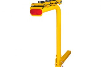 CURT® - Yellow Bike Rack for 4 Bikes