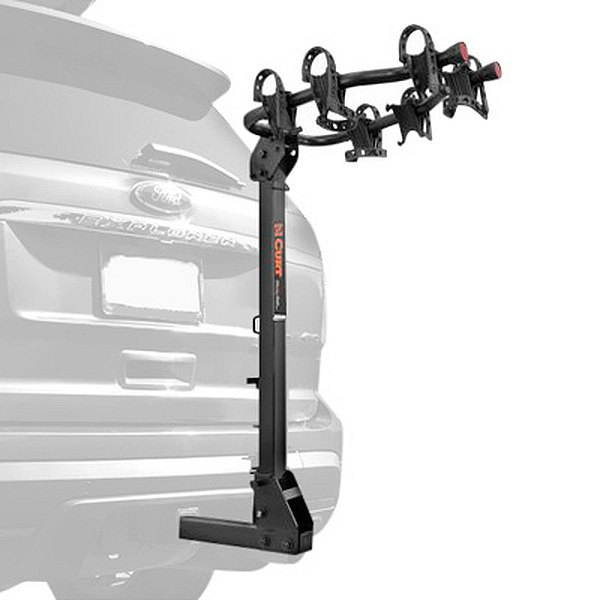 CURT® - Premium Hitch Mounted Bike Rack for 3 Bikes