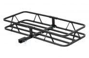 "CURT� - Basket Cargo Carrier with Fixed Shank for 1-1/4"" and 2"" Receivers"