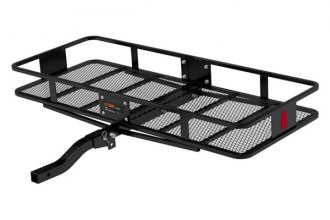 "CURT® 18153 - 60""x24""x6"" Basket Cargo Carrier for 2"" Receivers (With Folding Shank)"