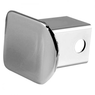 "CURT® - Chrome Plastic Tube Cover with 2"" Receiver Opening"