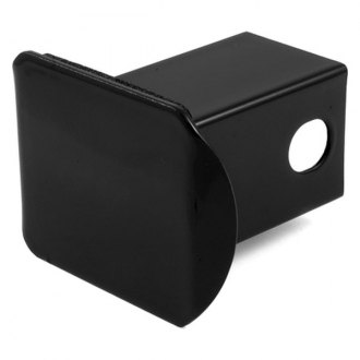 CURT® - Steel Hitch Receiver Tube Cover Black
