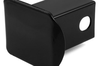 "CURT® 22750 - Black Steel Hitch Receiver Tube Cover for 2"" Receivers"