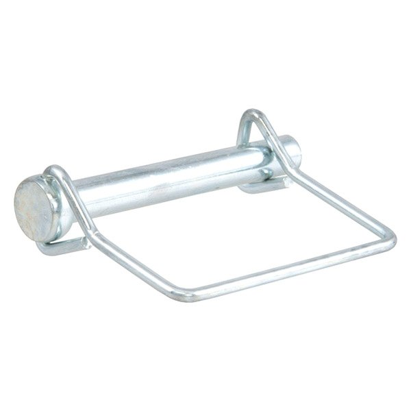 Coupler Safety Pin : Curt  quot zinc coated coupler safety pin