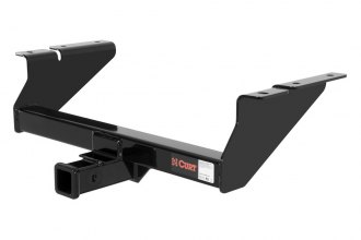 CURT® - Class 3 Concealed Black Front Trailer Hitch with Receiver Opening