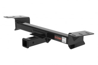 CURT® - Front Trailer Hitch with Receiver Opening