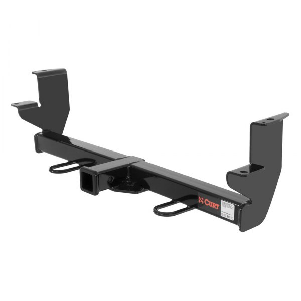 CURT® - Class 3 Exposed Black Front Trailer Hitch with Receiver Opening