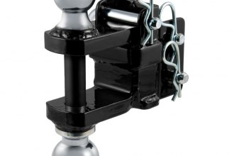 CURT® - Adjustable Drawbar Dual-Ball and Clevis Bar Mount