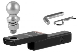 "CURT® - Class 1 1-1/4"" Drop Ball Mount for 1-1/4"" Receivers (6-3/4"" Length)"