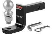 "CURT� - Class 1 3-1/4"" Drop Ball Mount for 1-1/4"" Receivers"